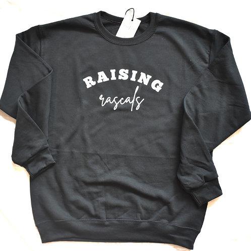 Raising Rascals | crew sweater