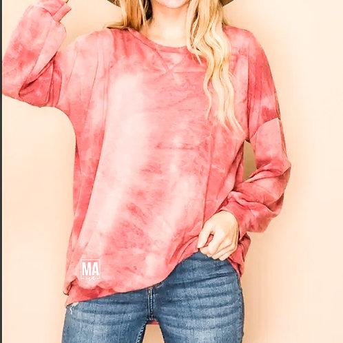 Rose Dye Mama | light sweater