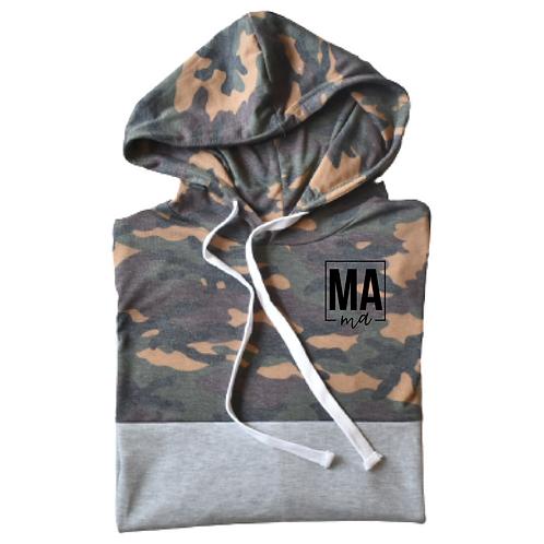 Camo Mama | light hoodie
