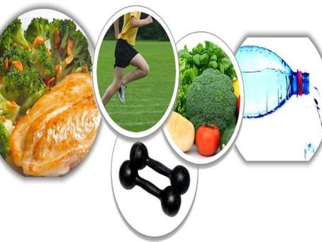 Alimentação saudável e atividade física