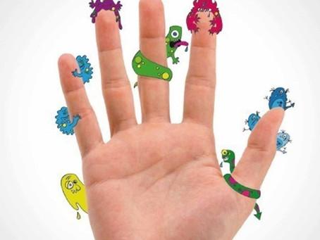 A importância da higienização correta das mãos