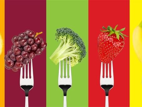 A importância de colocar mais cores em nossas refeições