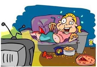 Sua TV está ligada durante as refeições?