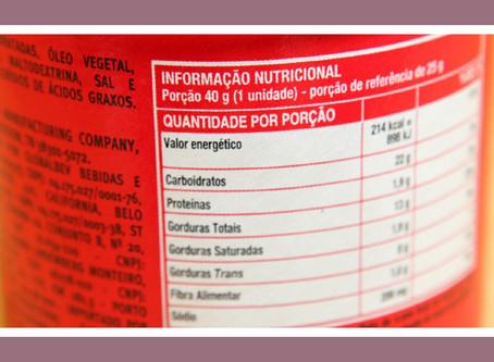 Rotulagem nutricional é tema de reunião na Anvisa