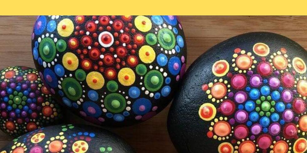 Rock Mandala Paint Class