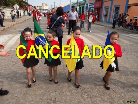Desfiles de 7 de setembro cancelados em Piratini