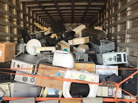 Recolhimento de lixo eletrônico acontece hoje (9/11) em Piratini