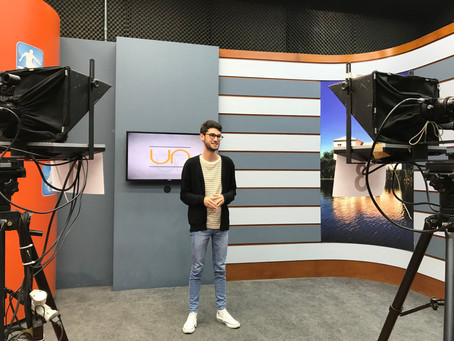 Estudante Piratiniense é selecionado em projeto da TV Futura do Rio de Janeiro