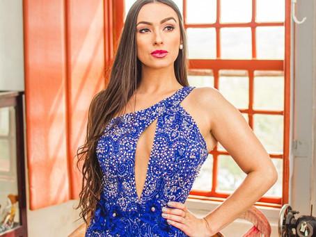 Jéssica Azevedo é eleita Miss Brasil Mercosul Turismo 2020