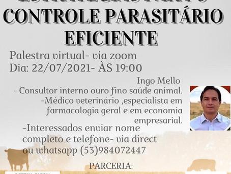 Sindicato Rural promove palestra sobre controle parasitário
