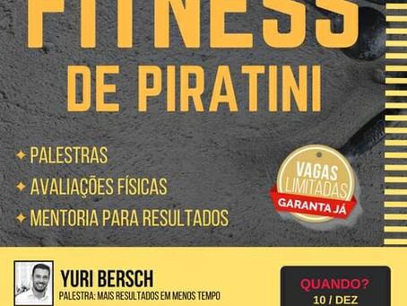 Encontro que debate a importância da vida saudável ocorre no próximo final de semana, em Piratini