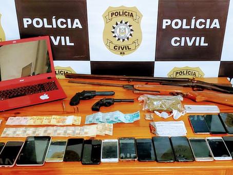 Operação prende 10 pessoas em Piratini