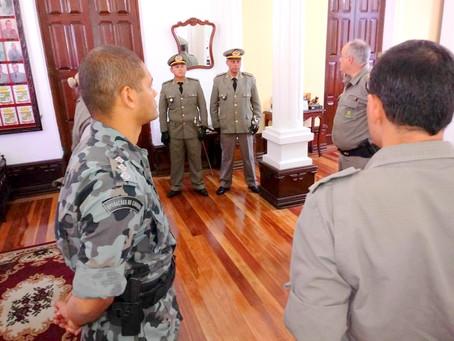 Em cerimônia realizada em Canguçu, BM de Piratini recebe novo Tenente