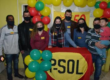 PSOL oficializa candidatura de Pedro Stein
