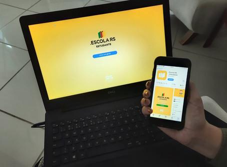 Internet patrocinada está disponível para alunos e professores da Rede Estadual