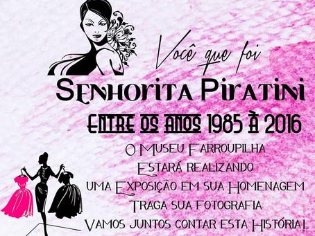 Museu Histórico Farroupilha resgata história do concurso Senhorita Piratini