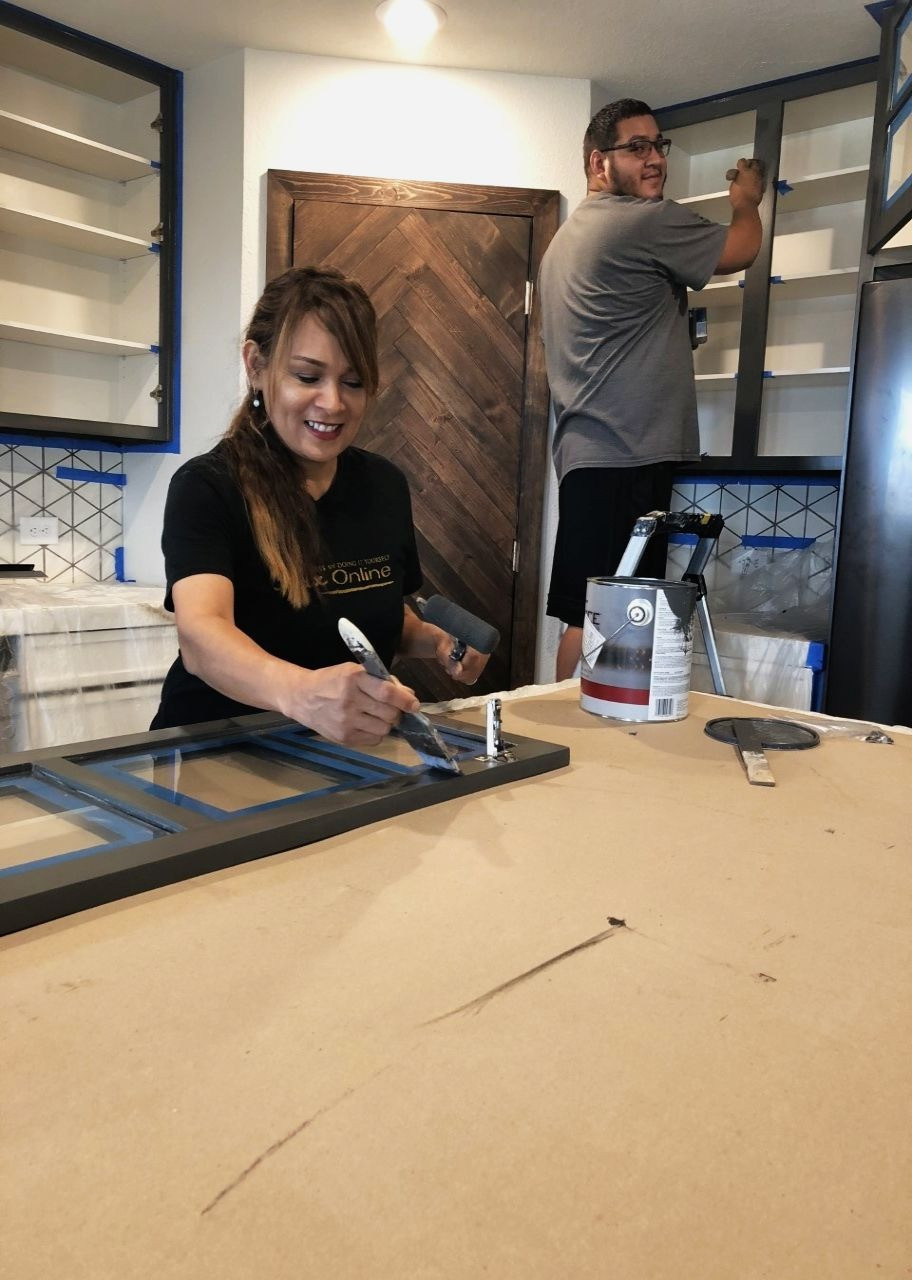 How To Prep-Kitchen Cabinets & Furniture
