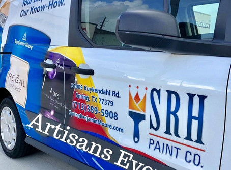 Artisans' Product Demonstration Hosted by Benjamin Moore SRH Paint Co.