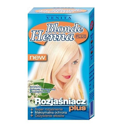 Blonde Henna Plus Осветляет на 4-6 тонов