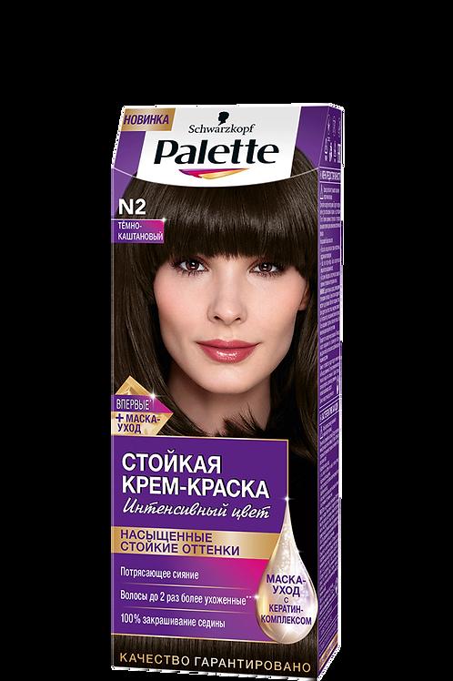 N2(3-0) Тёмно-Каштановый Краска для волос Palette (Палетт)