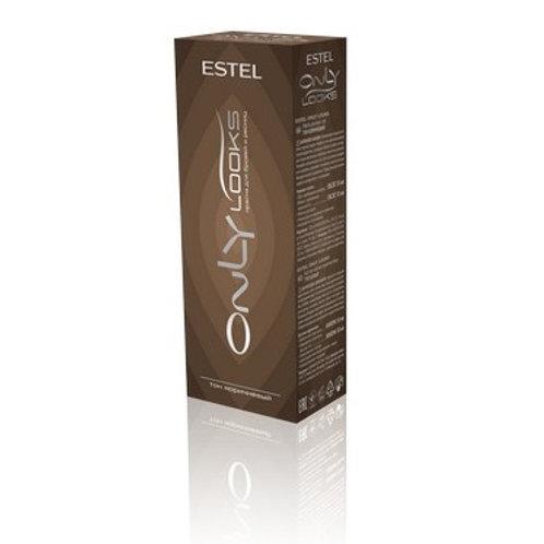 ESTEL OnlyLooks - Коричневая Краска для бровей и ресниц