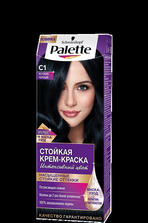 C1(1-1) Иссиня-Чёрный Краска для волос Palette (Палетт)