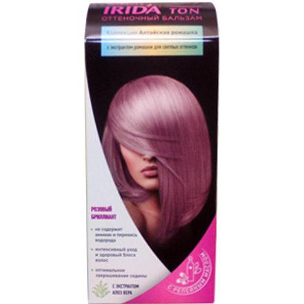 Розовый Бриллиант Оттеночный бальзам IRIDA TON (Ирида) 50мл