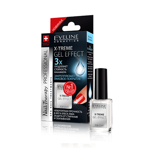 Eveline Nail Therapy PROFESSIONAL X-TREME GEL EFFECT
