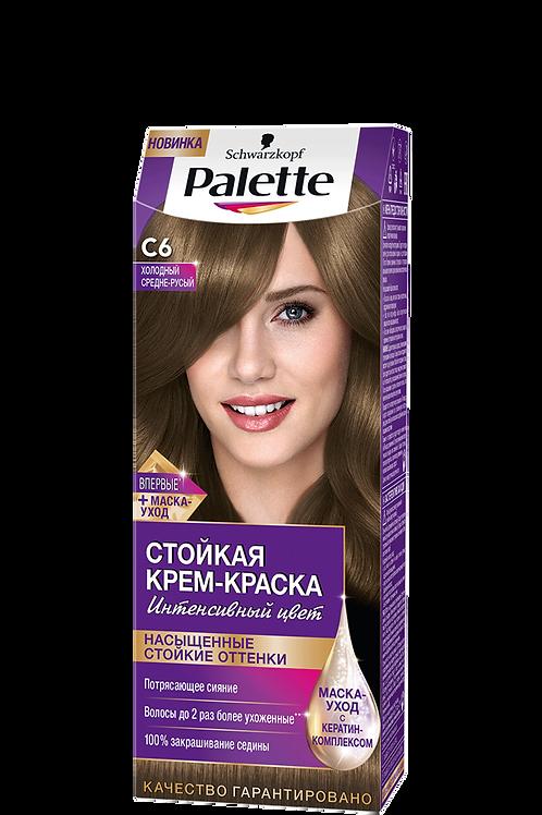 C6(7-1) Холодный Средне-Русый Краска для волос Palette (Палетт)