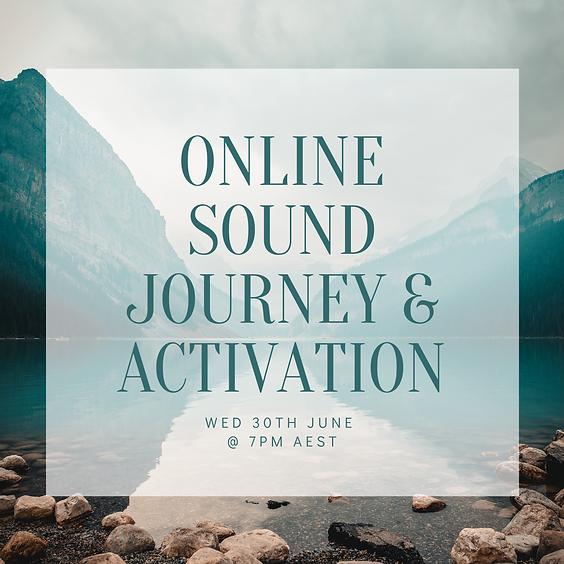 Online Sound Journey & Activation - June 2021