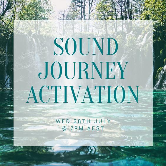 Sound Journey Activation - July 2021