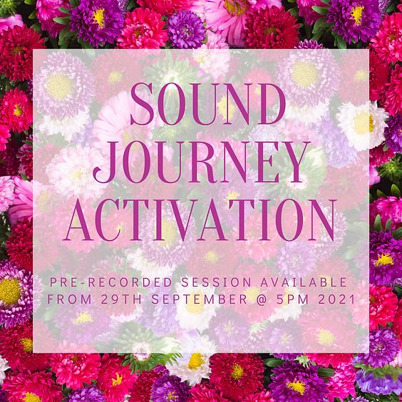 Sound Journey Activation - September 2021