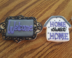 New Home Congratulations Sugar Cookies