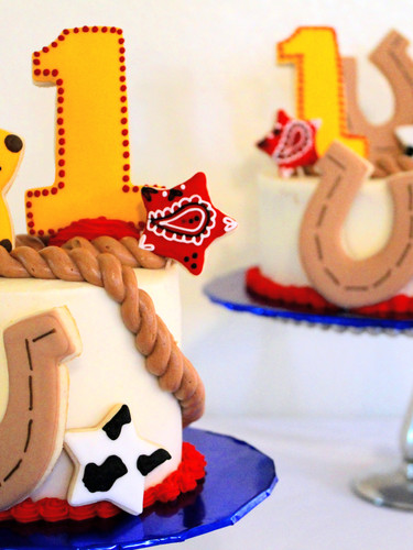 Western Themed Cakes