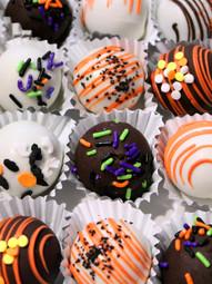 Halloween Cake Truffles