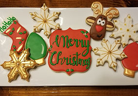 Christmas Sugar Cookies & Dessets