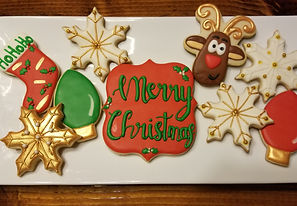 Christmas Sugar Cookies & Dessets