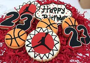 Basketball Michael Jordan Suar Cookies