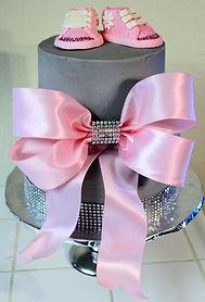 Pink Baby Bling Cake