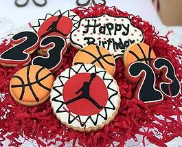 Basketball Sugar Cookies Michael Jordan