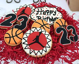 Basketball Sugar Cookies Michael Jordan
