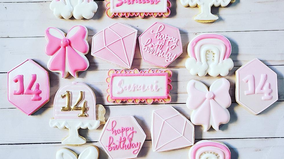Birthday cookies- simple