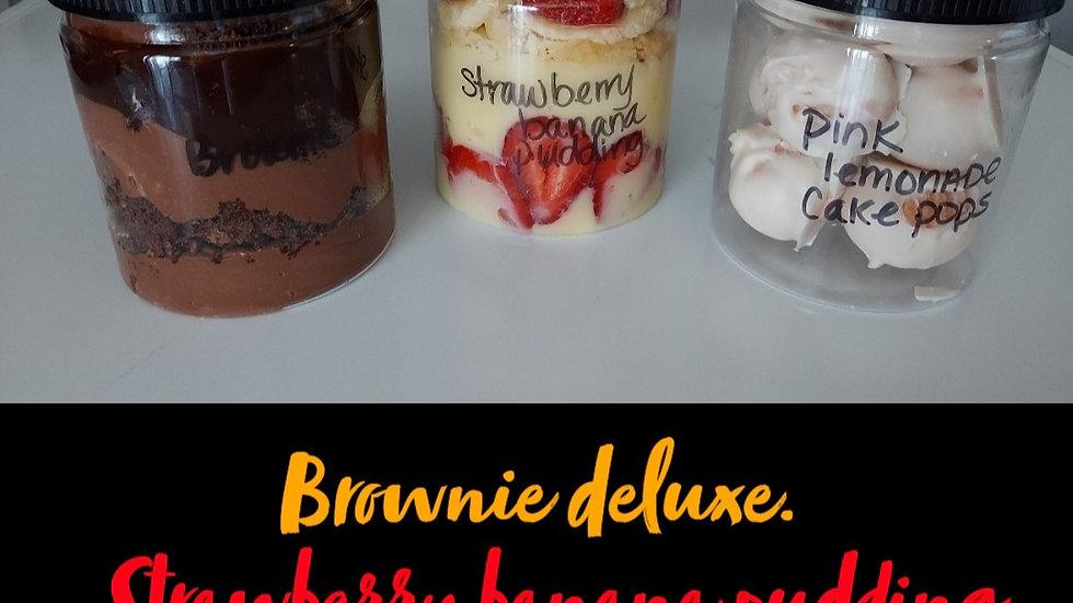 Variety cake jars (set of 3)