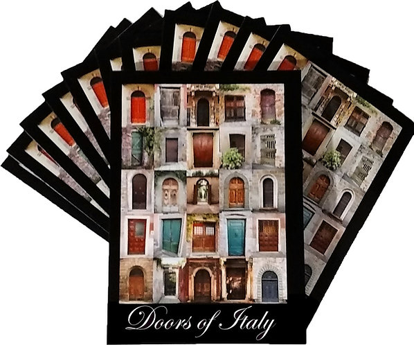 TWELVE – Doors of Italy 5″ x 7″ Cards