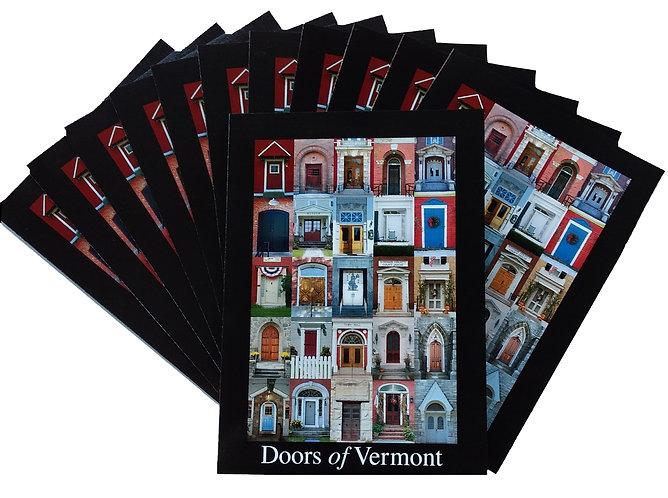 TWELVE – Doors of Vermont 5″ x 7″ Cards (blank inside)