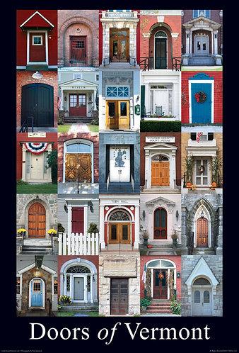 Doors of Vermont Poster