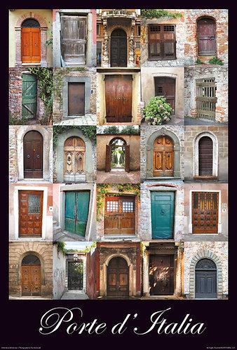 Porte d'Italia - Italian - Large – 18″ x 26.5″