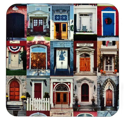 Doors of Vermont Coaster Set of Four