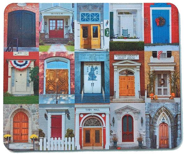 Doors of Vermont Mousepad