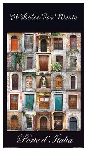 Small Porte d'Italia Magnet 1.93″ x 3.43″